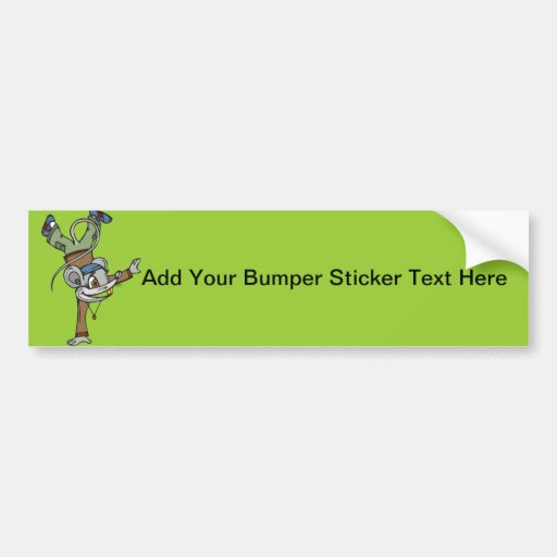 Teenager Mouse Bumper Sticker