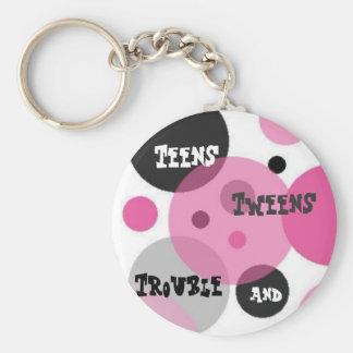 Teens key ring key chains