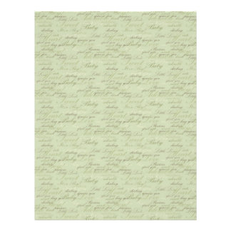 Teeny Toes GRN Dual Sided Scrapbook Paper 21.5 Cm X 28 Cm Flyer