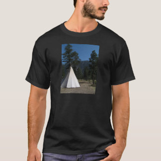Teepee in the mountains T-Shirt