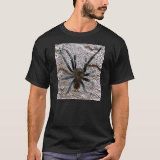 Tees men's black with tarantula
