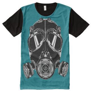 Teeshirt all over masque bleu canard All-Over print T-Shirt