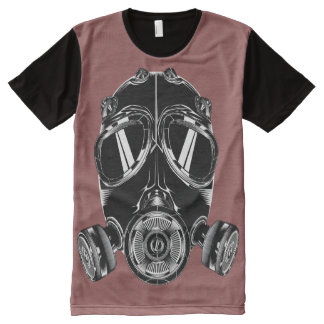 Teeshirt all over masque bordeau All-Over print T-Shirt