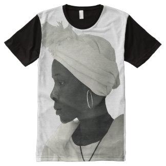 Teeshirt all over vintage black girl blanc All-Over print T-Shirt