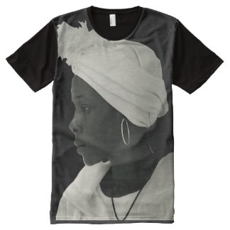 Teeshirt all over vintage black girl noir All-Over print T-Shirt