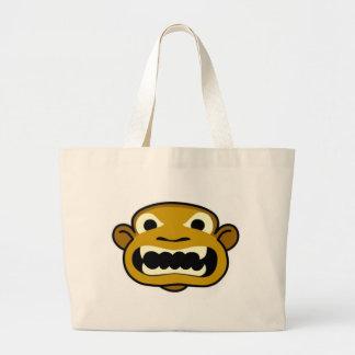teeth jumbo tote bag