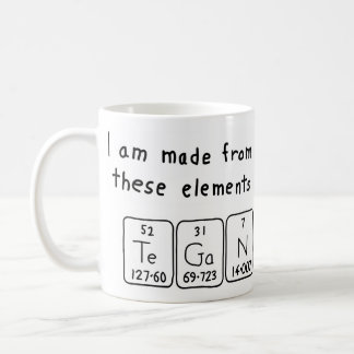 Tegan periodic table name mug