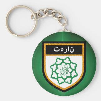 Tehran Flag Key Ring