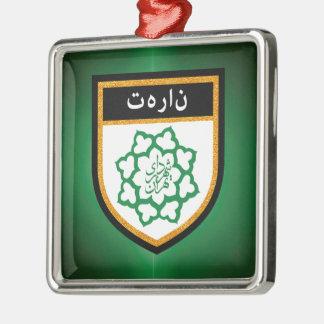 Tehran Flag Metal Ornament