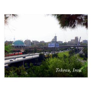 Tehran View Postcard