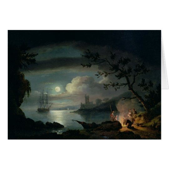 Teignmouth by moonlight card