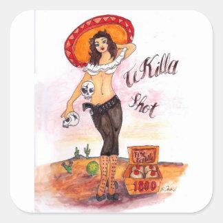 TeKilla Shot sticker