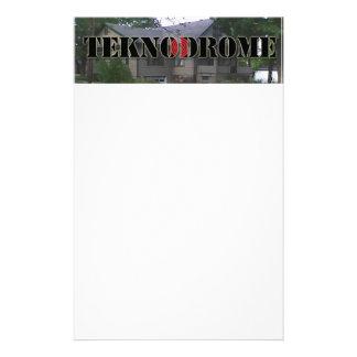 Teknodrome Letterhead Stationery Design