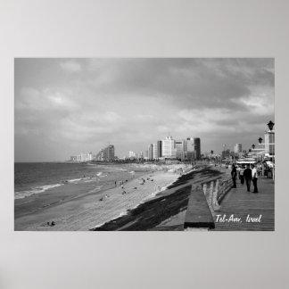 Tel-Aviv, Israel Poster