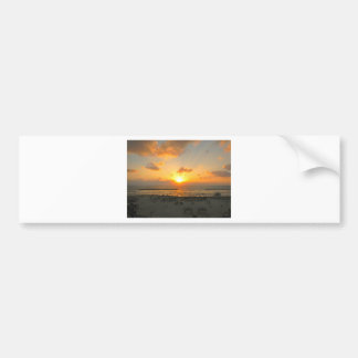 Tel Aviv Sunset Bumper Sticker