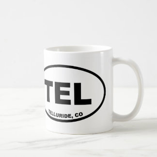 TEL Telluride Colorado Coffee Mug