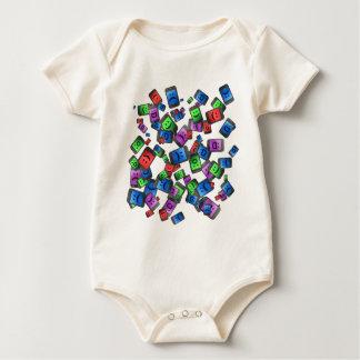 Telecommunication fun. baby bodysuit