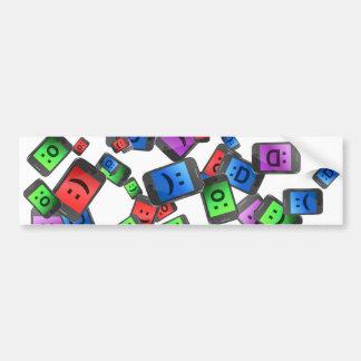 Telecommunication fun. bumper sticker