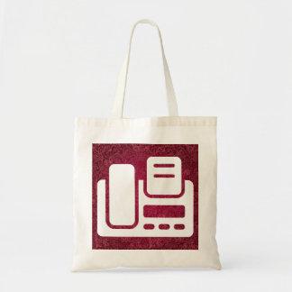 Telefaxes Minimal Budget Tote Bag