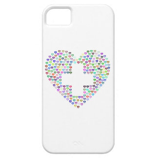Telefoonhoesje Hartje & cross. iPhone 5 Cover