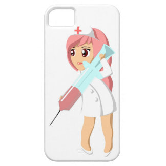 Telefoonhoesje nurse. iPhone 5 cover
