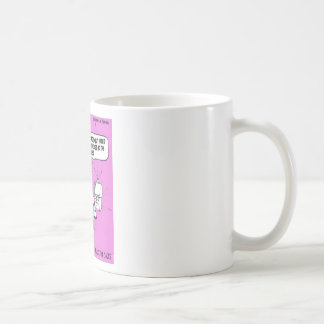 Telemarketing Cows Funny Tees Gifts & Collectibles Basic White Mug