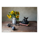 Telephone and Sunflowers Cards