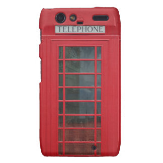 Telephone Booth Droid RAZR Case