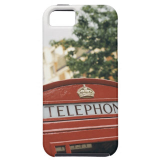 Telephone booth in London England Tough iPhone 5 Case
