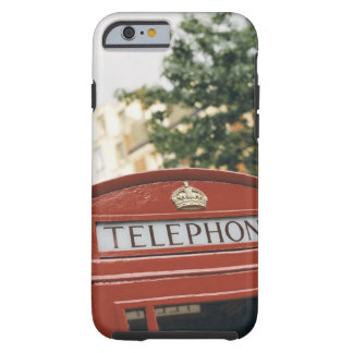 Telephone booth in London England Tough iPhone 6 Case