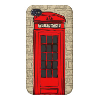 telephone booth iphone case iPhone 4 cover
