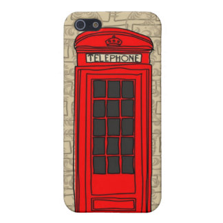 telephone booth iphone case iPhone 5 covers