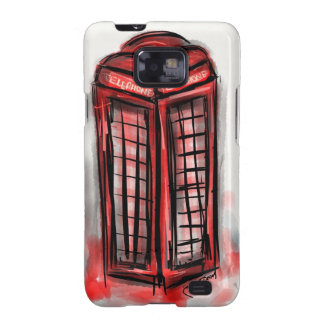 Telephone Booth Products Galaxy SII Covers