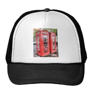 Telephone box cap
