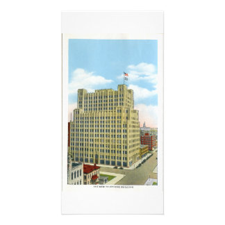Telephone Building, Denver, Colorado Personalised Photo Card