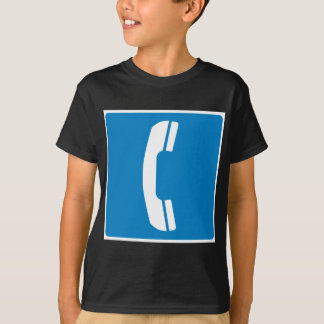 Telephone Highway Sign T-shirt