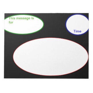 Telephone Message Pad