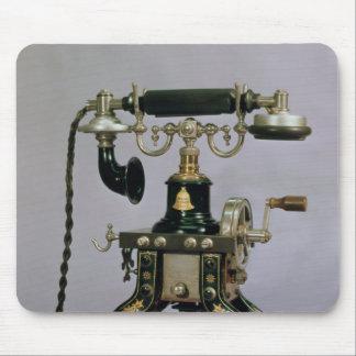 Telephone, National Telephone Service, USA, 1890 Mouse Pad