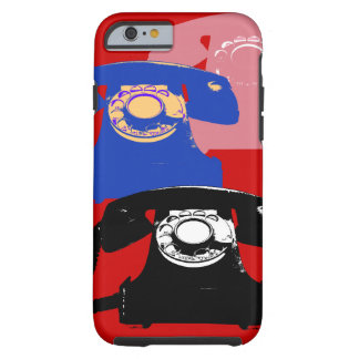 telephones pop-art tough iPhone 6 case