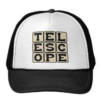 Telescope, Astronomical Instrument Hats