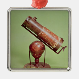 Telescope belonging to Sir Isaac Newton  1671 Metal Ornament
