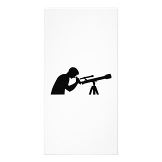 Telescope Personalized Photo Card