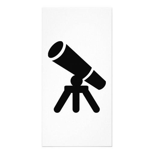 Telescope Photo Card Template