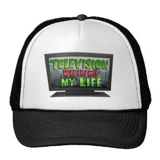 TELEVISION RUINED MY LIFE (YaWNMoWeR) Cap
