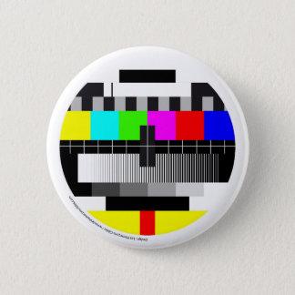Television/Television/TV 6 Cm Round Badge