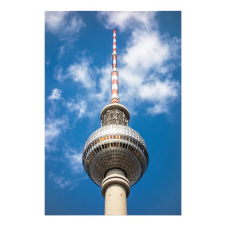 Television tower in Berlin Germany Photo Art