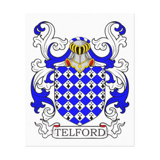 Telford Coat of Arms Gallery Wrap Canvas