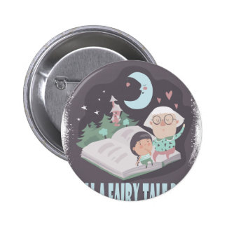 Tell A Fairy Tale Day - Appreciation Day 6 Cm Round Badge