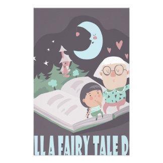 Tell A Fairy Tale Day - Appreciation Day Stationery