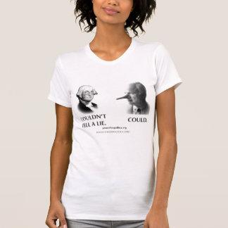 """""""Tell A Lie"""" Women's T Shirts"""